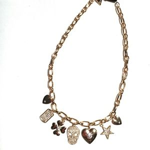 3/$30! GUESS Statement Necklace with Charms